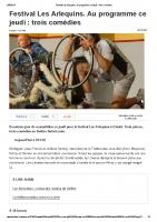 20150416 – Festival Les Arlequins